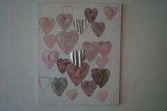 Bild Herzen (80x100 cm) - Art.-Nr. 7