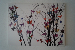 Bild Schmetterlinge (90x120 cm) - Art.-Nr. 13