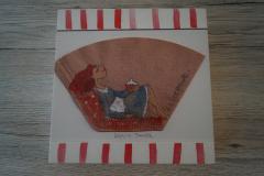 Bild Kaffeepause (20x20 cm) - Art.-Nr. 20