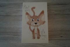 Bild Katze Don't Worry (15x24 cm) - Art.-Nr. 26