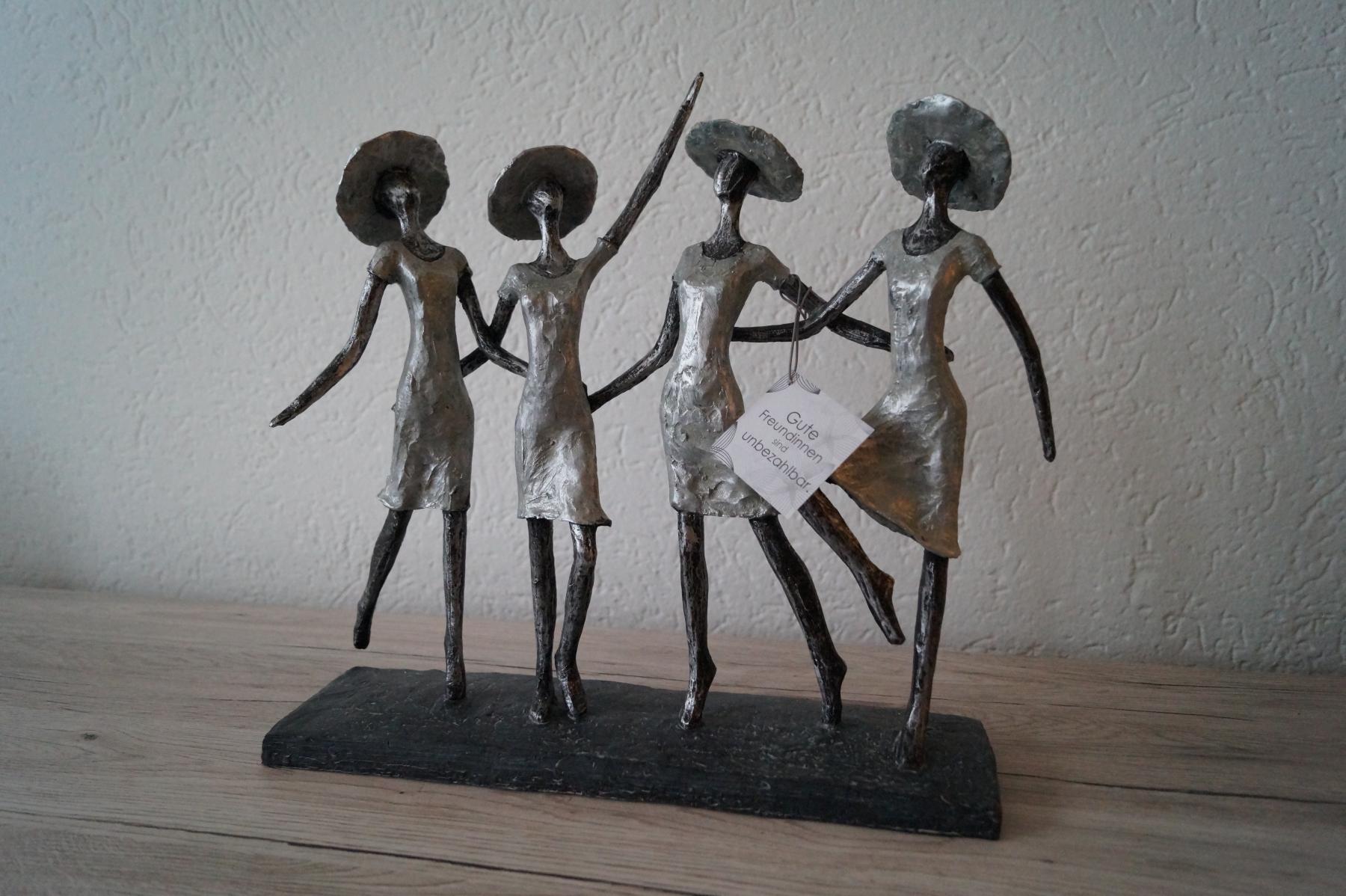 Figur Beste Freundinnen (34x34 cm) - Art.-Nr. 29