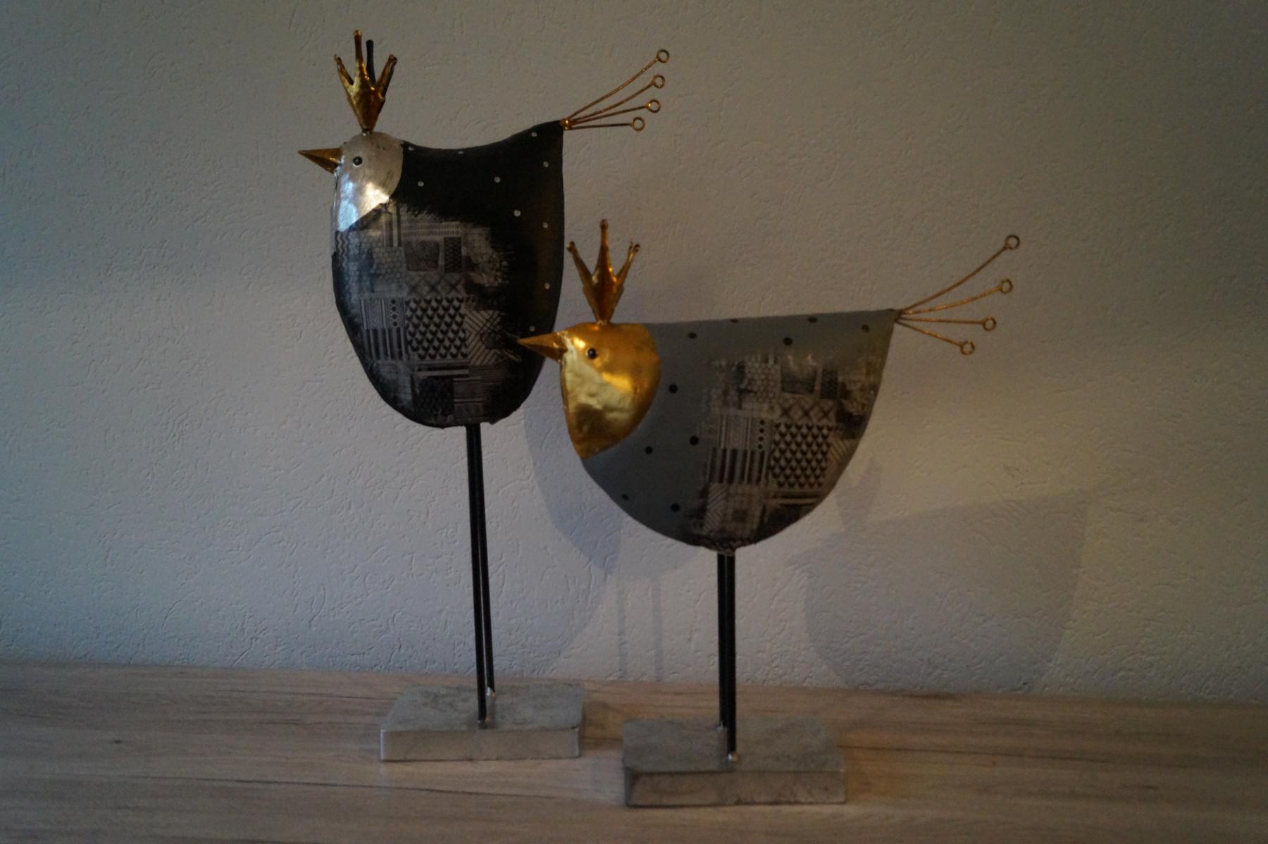 Figur Hahn groß oder klein (71x37 cm / 52x46 cm) - Art.-Nr. 69 / 70